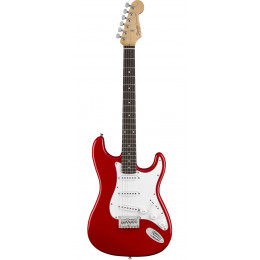 Squier MM Stratocaster Hard Tail Red Электрогитара