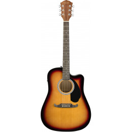 Fender FA-125CE Dreadnought, Sunburst Электроакустическая гитара