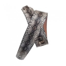 Planet Waves 2` Suede with Silver Screened Snakeskin Print Ремень замша с рисунком `кожа змеи`