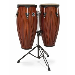 Latin Percussion LP646NY-CMW City Series Conga Set w/Stand Carved Mango Комплект конга со стойкой